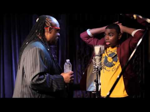 Stevie Wonder Surprises Young Man During Performance