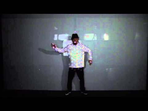 Entire Dance with High-speed Projection Mapping #PanasonicCES 2016