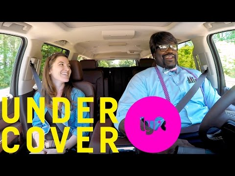 Shaq Goes Undercover as Lyft Driver in Hilarious Clip