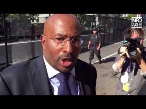 Info Wars' Ambush Interview with Van Jones Didn't Turn Out As They Expected