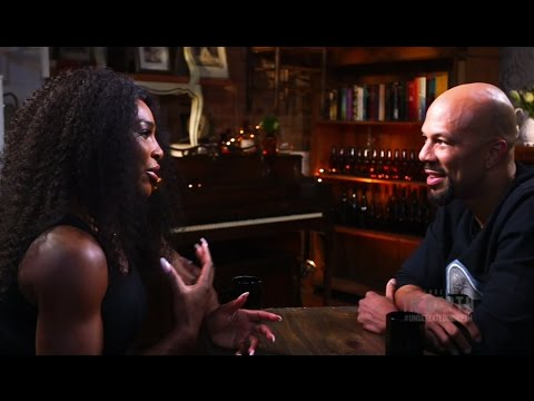 Serena Williams Sits Down with Common for ESPN interview