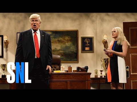 Alec Baldwin Returns to SNL as President-Elect Trump