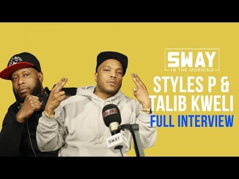 "Styles P & Talib Kweli Speak on Black Power, White Privilege & Collab Project ""The Seven"""
