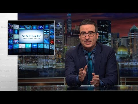 John Oliver Exposes The Dangers of Corporations Taking Over Local News