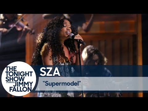 "SZA Returns to 'Fallon' to Perform ""Supermodel"""