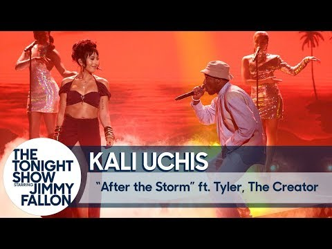 "Kali Uchis, Tyler, the Creator & The Roots Perform ""After the Storm"" on 'Fallon'"
