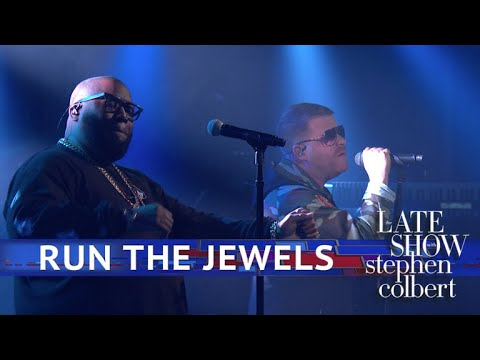 Run The Jewels Perform 'Thursday In The Danger Room' on The Late Show