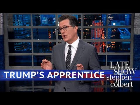 Stephen Colbert: Omarosa Is Starting To Think Trump Might Be Racist