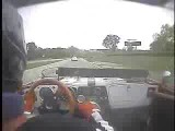 Triumph TR-4 In-Car Camera, SVRA Vintage Race, Road America, 5/20/2007