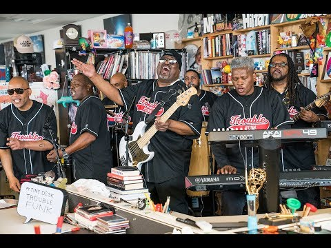 Trouble Funk: NPR Music Tiny Desk Concert (Video)