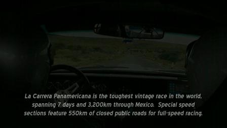GT Racer Season II, LA CARRERA PANAMERICANA TRAILER