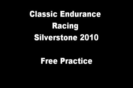 CER Silverstone 2010 - Onboard Porsche 3.0 RSR