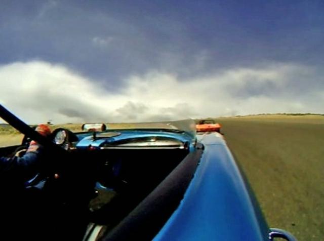 Tony Garmey's 1962 Corvette at the 2009 Reno Historic Races