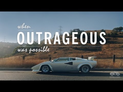 Lamborghini Countach - When Outrageous Was Possible