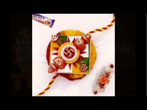 Send Nice Rakhi Pooja Thali Through The Internet Anywhere in India