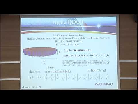 """EP2DS-20 MSS-16 """"Semiconductor and graphene quantum dots"""""""