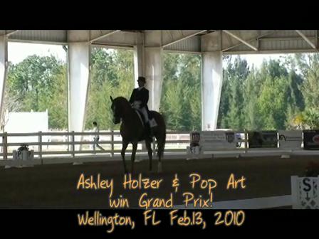 Ashley and Pop Art win GP Feb13 2010