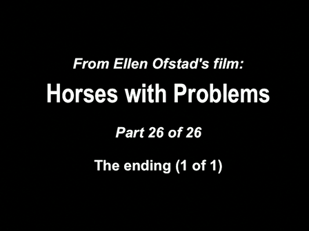 26-26 Horses with Problems - Ending 1-1