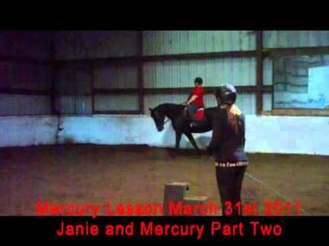 Mercury and Janie March 31st 2011 Lesson Part Two