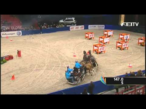 Boyd Exell uncontested winner in Stockholm
