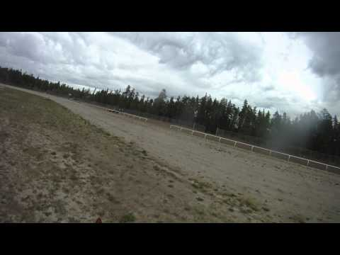 South Peace Horse Trials Prelim XC Helmet Cam