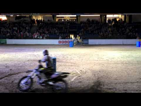 Barrel Racing - Horse vs. Motorcycle!