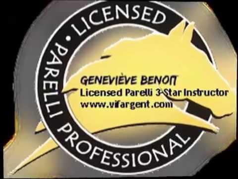 Geneviève Benoit Licensed Parelli 3-Star Instructor - VifArgent Horsemanship