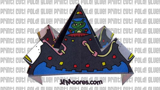 Alien UFO by J.E.Moores