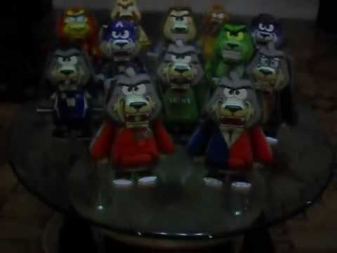 Street Dog Evolution Papertoy