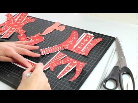 New Year's Snake paper toy Instructions Video