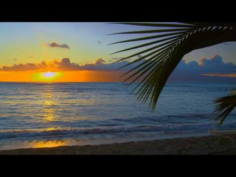 Relaxation Meditation (Sunset Over the Ocean) - Hawaii 2 w/ ocean sounds