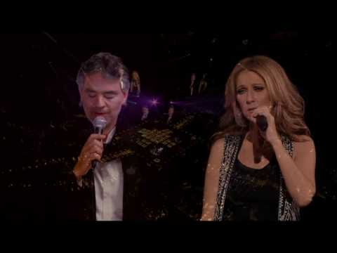 Celine Dion & Andrea Bocelli - The Prayer (Live In Boston Taking Chances Tour 2008) 720p HDTV