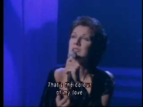 Celine Dion - The Colour Of My Love (with lyrics)