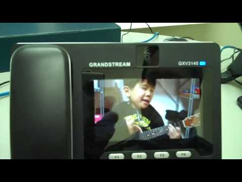 Grandstream GXV3140  How to play YouTube video with FP2 Release