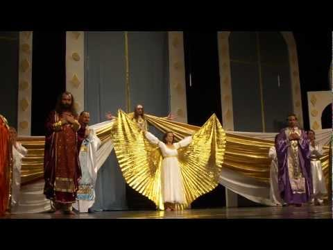 """""""Archangels gift"""", grand finale of the show"""