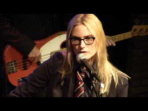 Aimee Mann performing Wise Up live at the Dakota Jazz Club