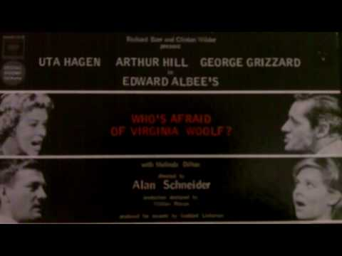 """OBCR - """"Who's Afraid of Virginia Woolf?""""; Act III. """"The Exorcism""""; Scene. """"Our Son"""""""