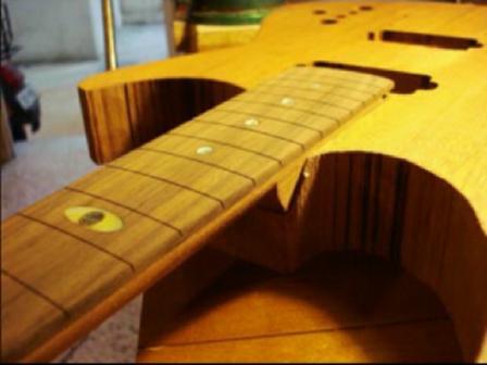 Handmade Guitar ME-109 by Yann!!