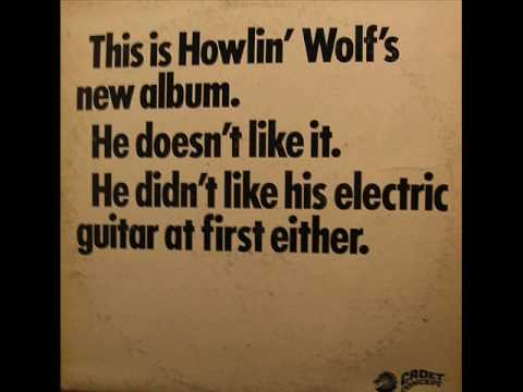 Howlin Wolf Built For Comfort
