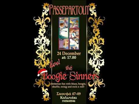 The Boogie Sinners - Long train running Jam - ''Passepartout'' bar Christmas Eve
