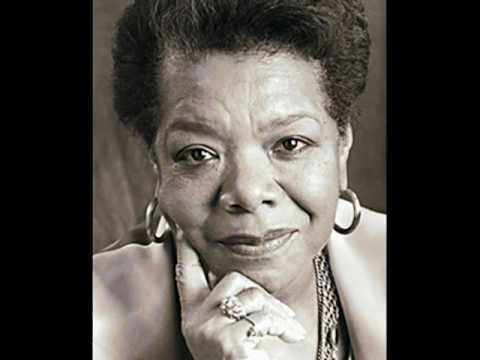 """I know why the caged birds sing"" of Maya Angelou"