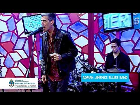 Adrián Jiménez Blues Band en Yo Quiero Estudiar