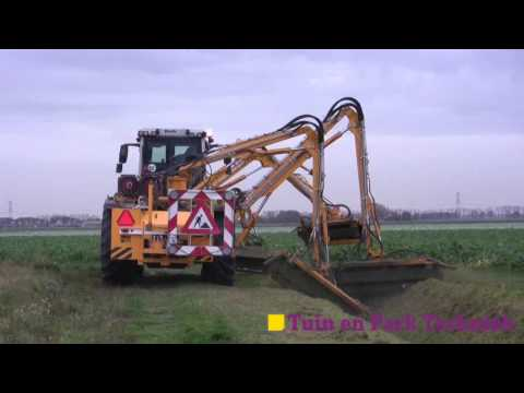 Mechaman sees Claas Xerion with Herder mowers