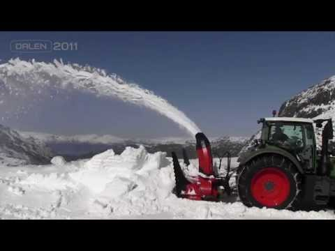 Dalen - Snowblower 2011 - Snøfres 2011