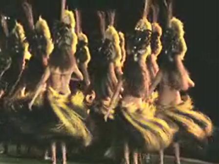 Lahaina (Maui) Lu'au Hula dancers!