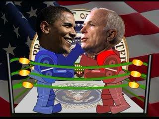 Barack 'em Sock 'em Robots