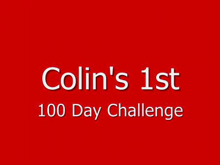 Colins 1st Challenge
