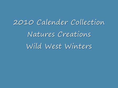 wild west calender