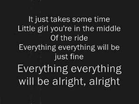 Very inspirational song! Jimmy Eat World - The Middle - Lyrics