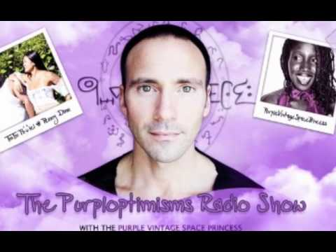 The PURPLOPTIMISMS RADIO SHOW  WITH THE PURPLE VINTAGE SPACE PRIN